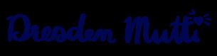 Schriftzug Dresden Mutti