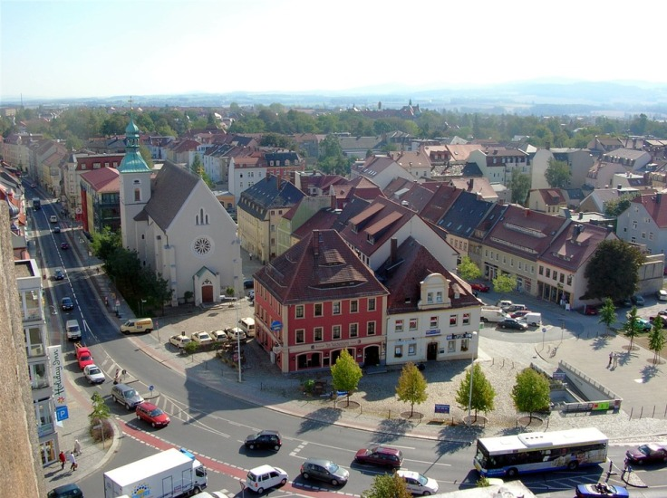 Bautzen Vogelperspektive