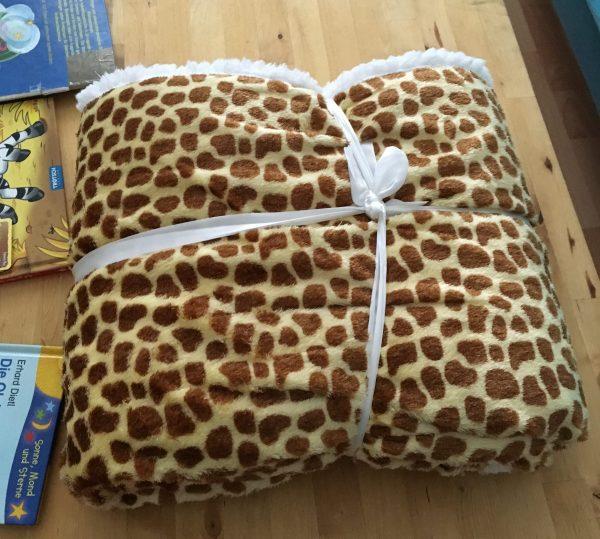 Giraffen Decke gekauft