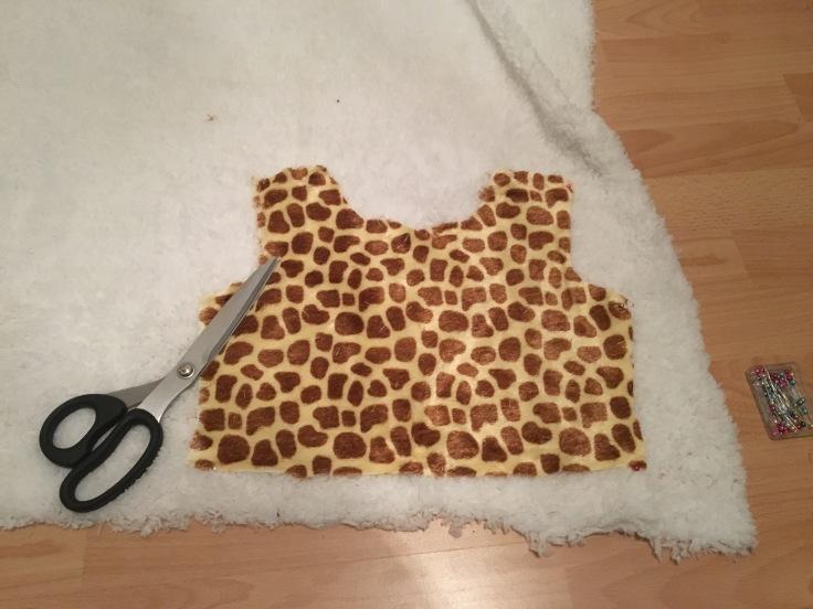 Oberteil Antheia Giraffe