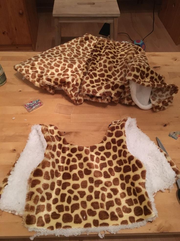 Oberteil und Unterteil Giraffe Antheia