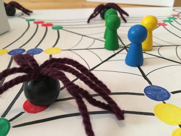 Spinnen-Angriff