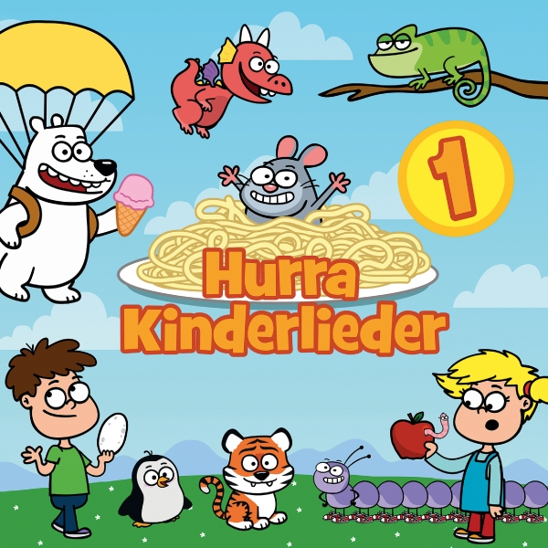Hurra Kinderlieder CD
