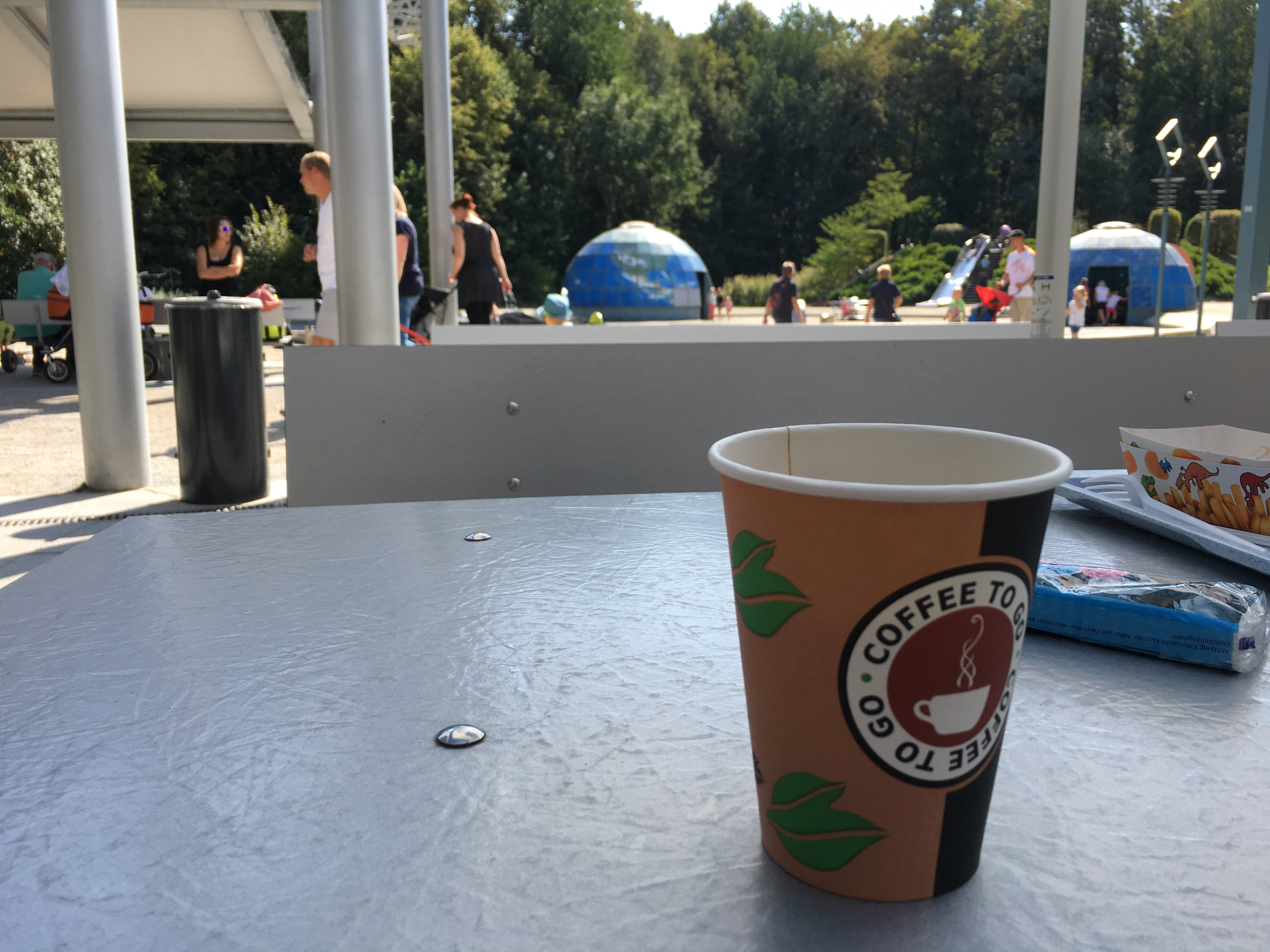 Kleinwelka Kaffee trinken