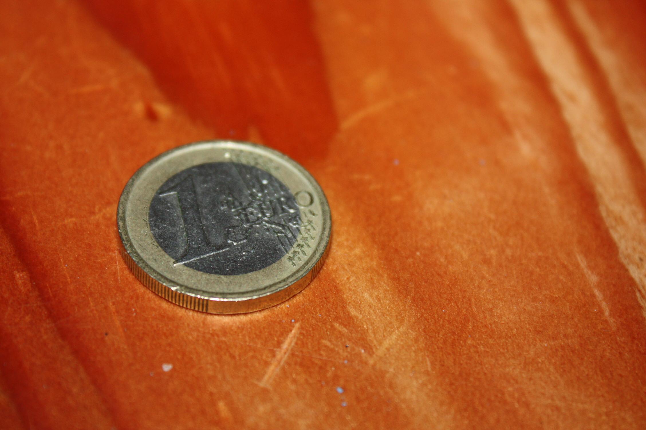 Ein Euro Taschengeld