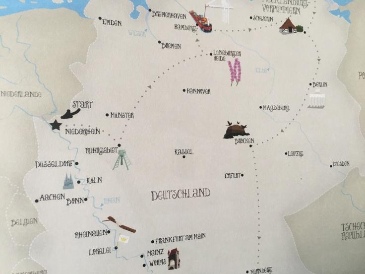 Pinipa Deutschlandkarte