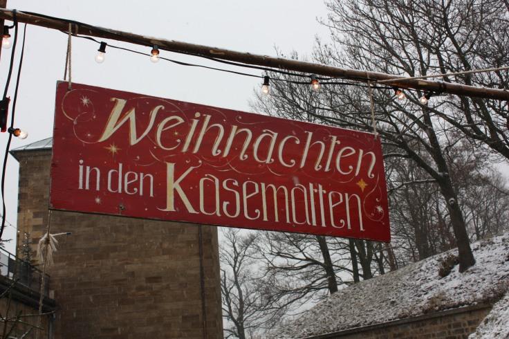 Weihnachtsmarkt Kasematten Königstein