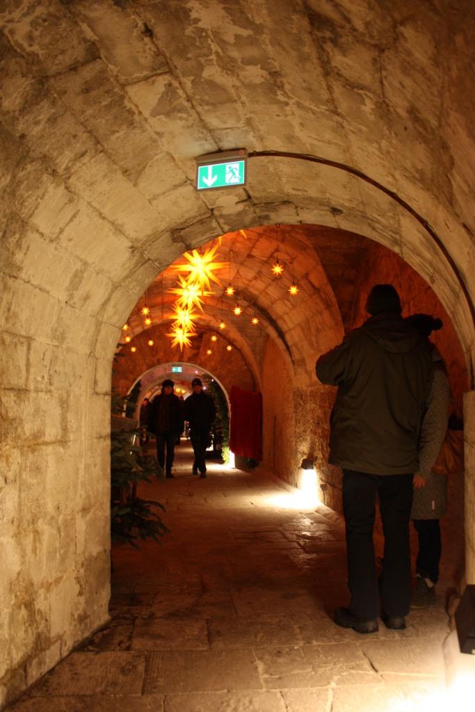 Kasematten Festung Königstein Weihnachten