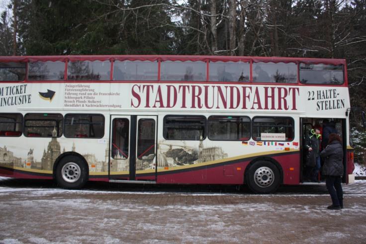 Stadtrundfahrt Dresden Bus