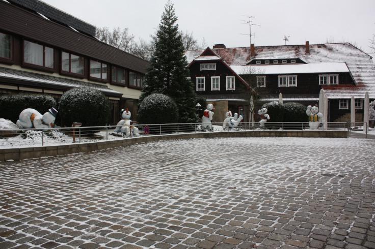 Schneemänner Bastei