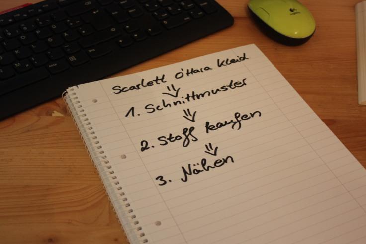 Scarlett Kleid nähen 3 Schritte