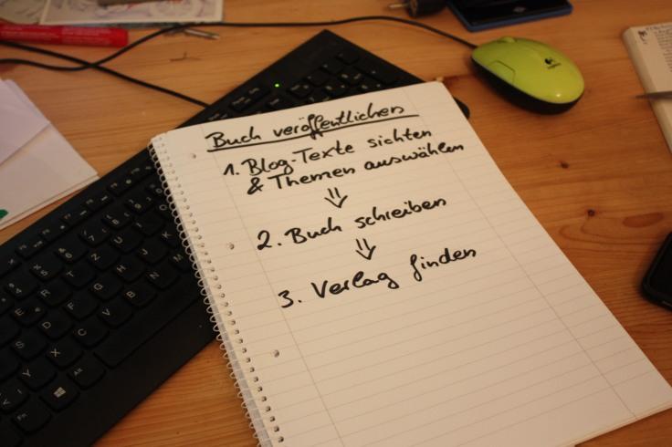 Buch veröffentlichen 3 Schritte