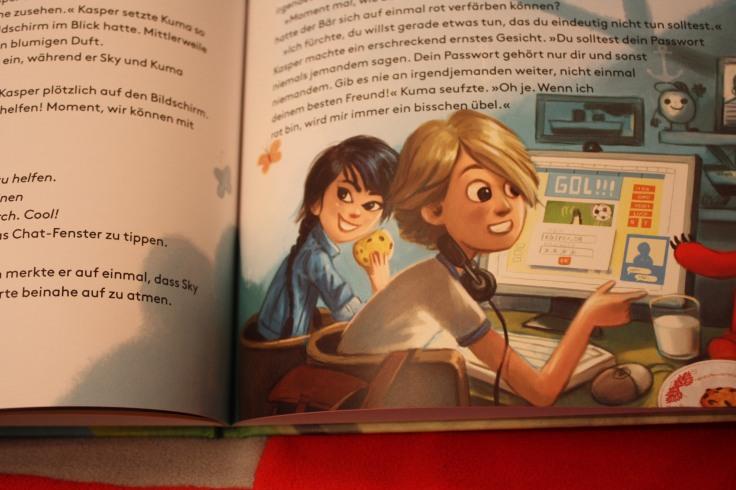 Blick ins Buch Kaspersky