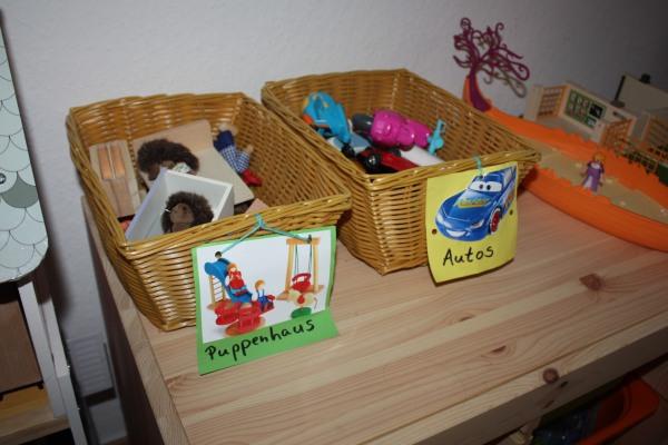 Montessori Aufräumen