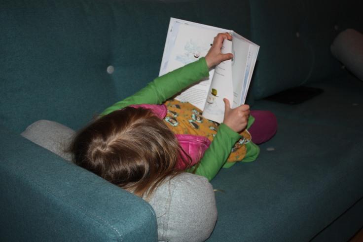 Purzelchen liest Willi Wolke
