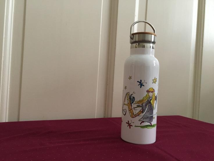 Rosi Rosinchen Edelstahl Trinkflasche