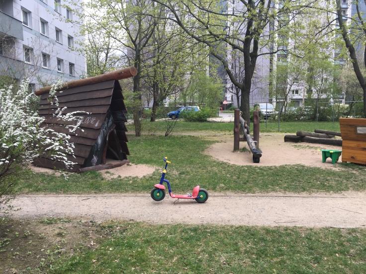 Spielplatz mit Wippe Dresden