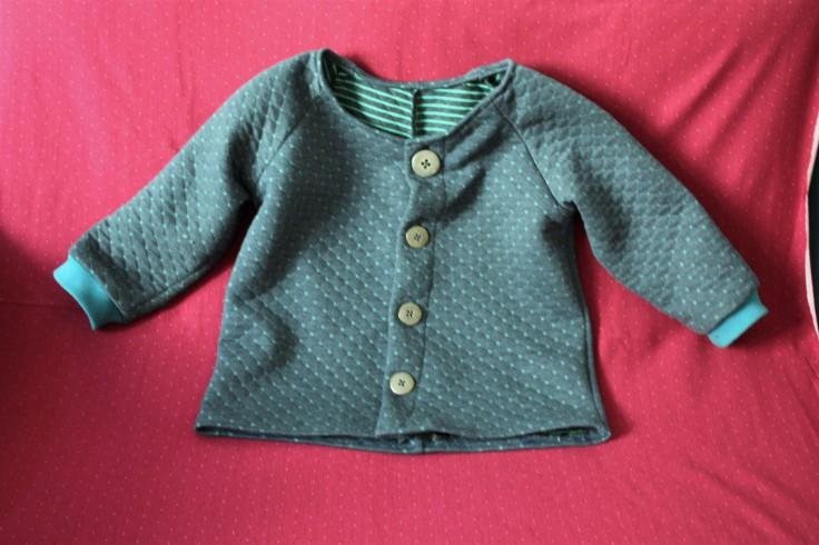 Jacke für Kinder mit Knöpfen