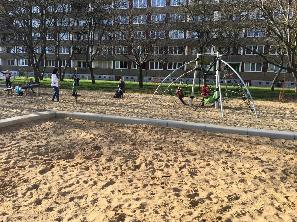 Dresden Spielplatz Tabaluga