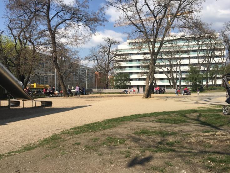 Spielplatz Wallstraße Dresden Umgebung