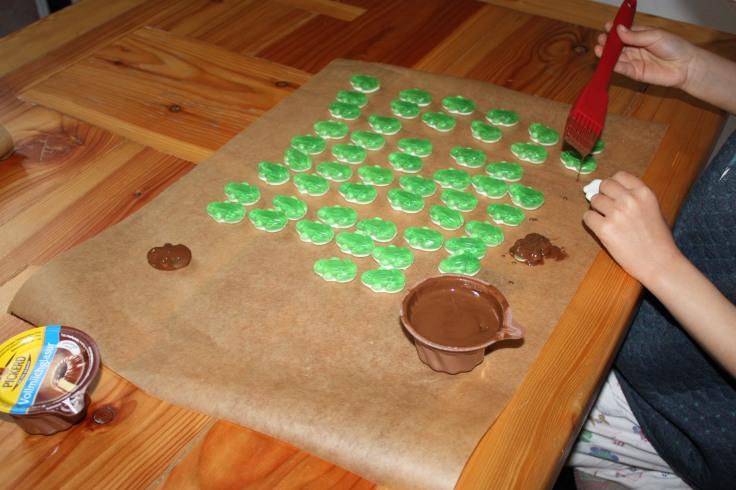 Schokofrösche Schokolade