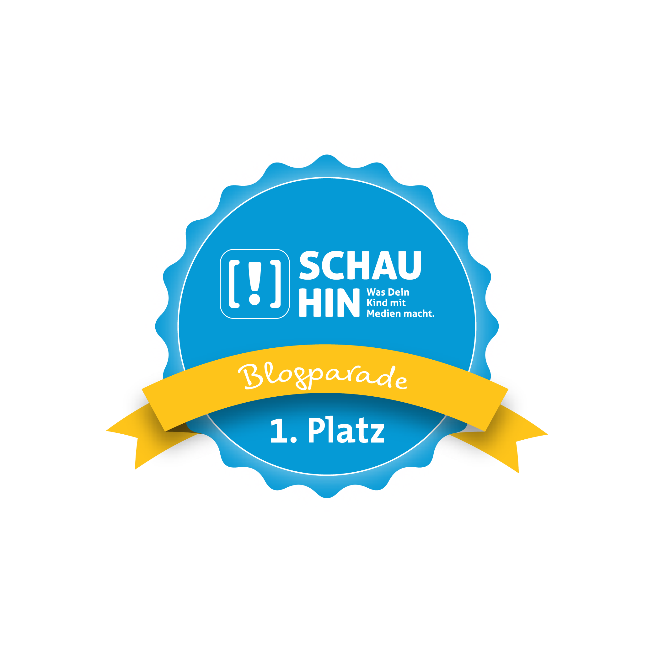 Platz 1 Schau Hin Blogparade