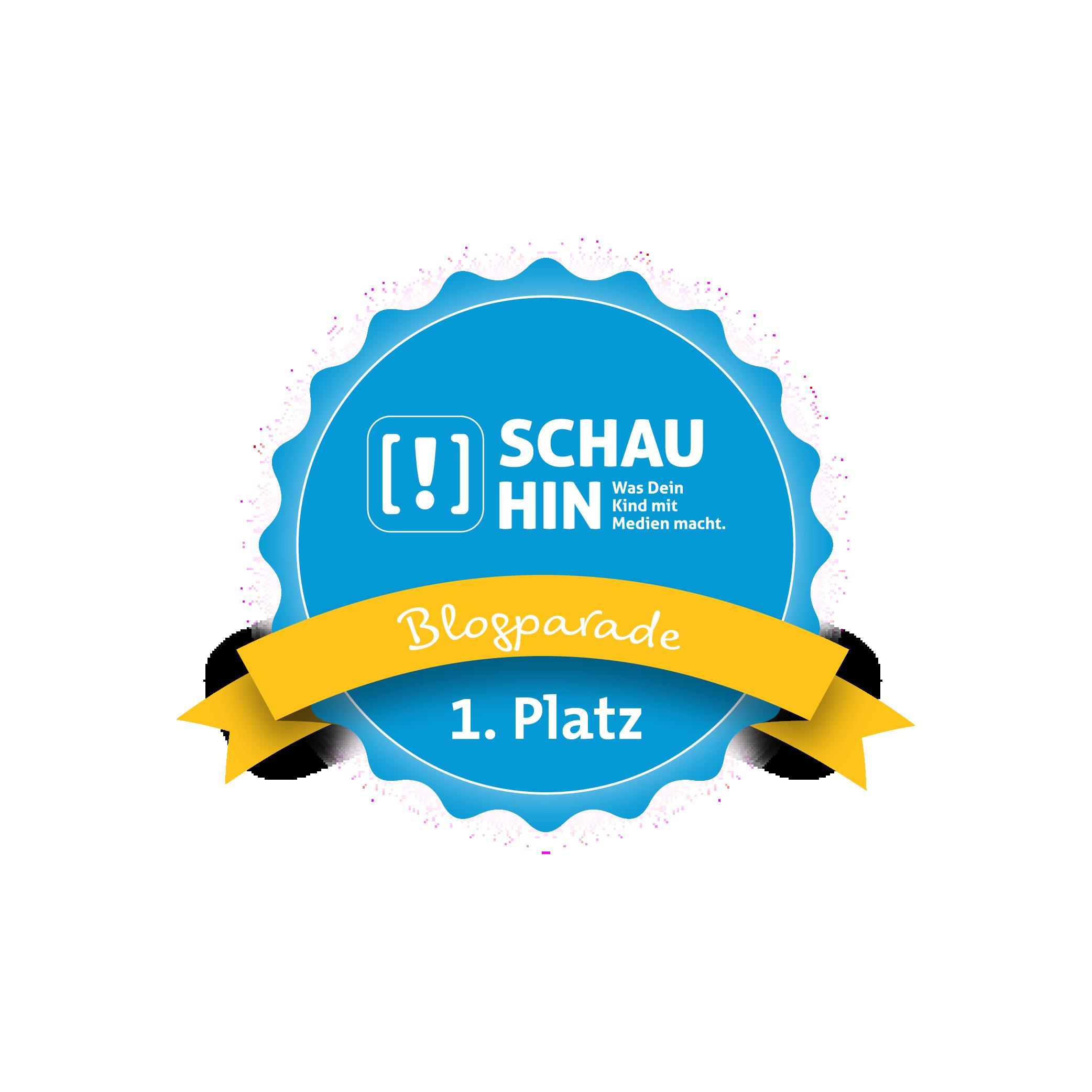 Platz 1 Schau Hin Blogparade
