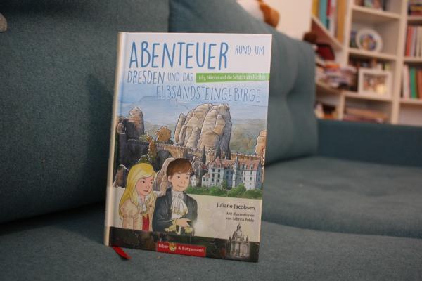 Buch Abenteuer rund um Dresden Cover