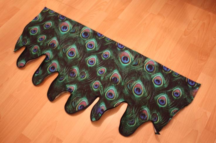 Flügel für Kostüm Pfau