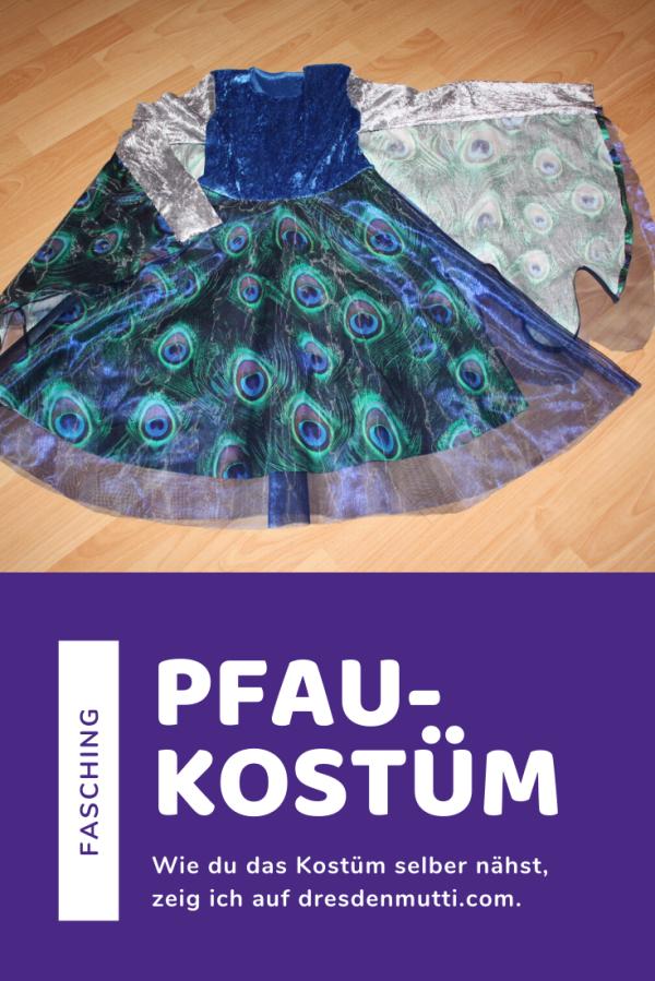 Kostüm Pfau