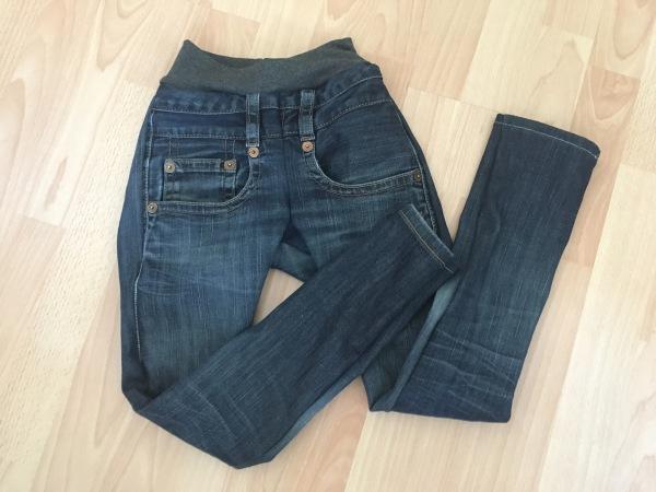 Jeans mit Bündchen