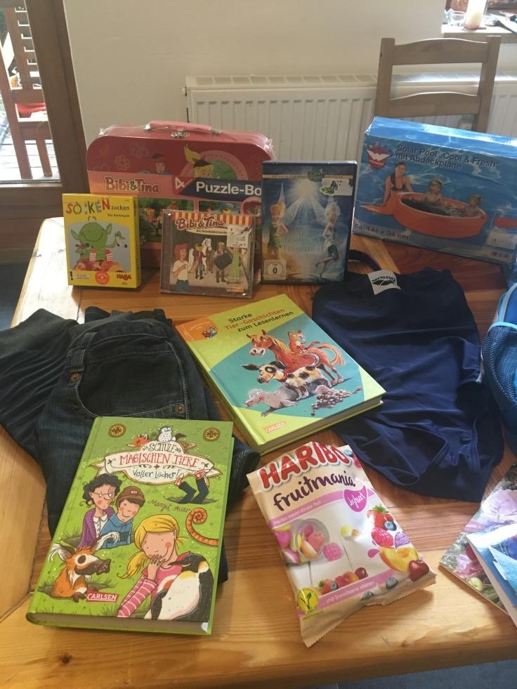 Geschenke zum 7ten Geburtstag