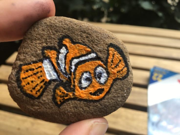 Findet Nemo Stein