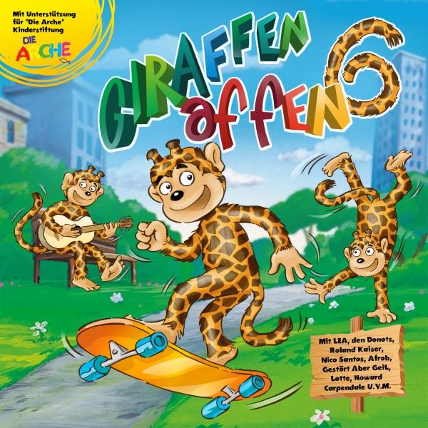 Cover Giraffenaffen 6