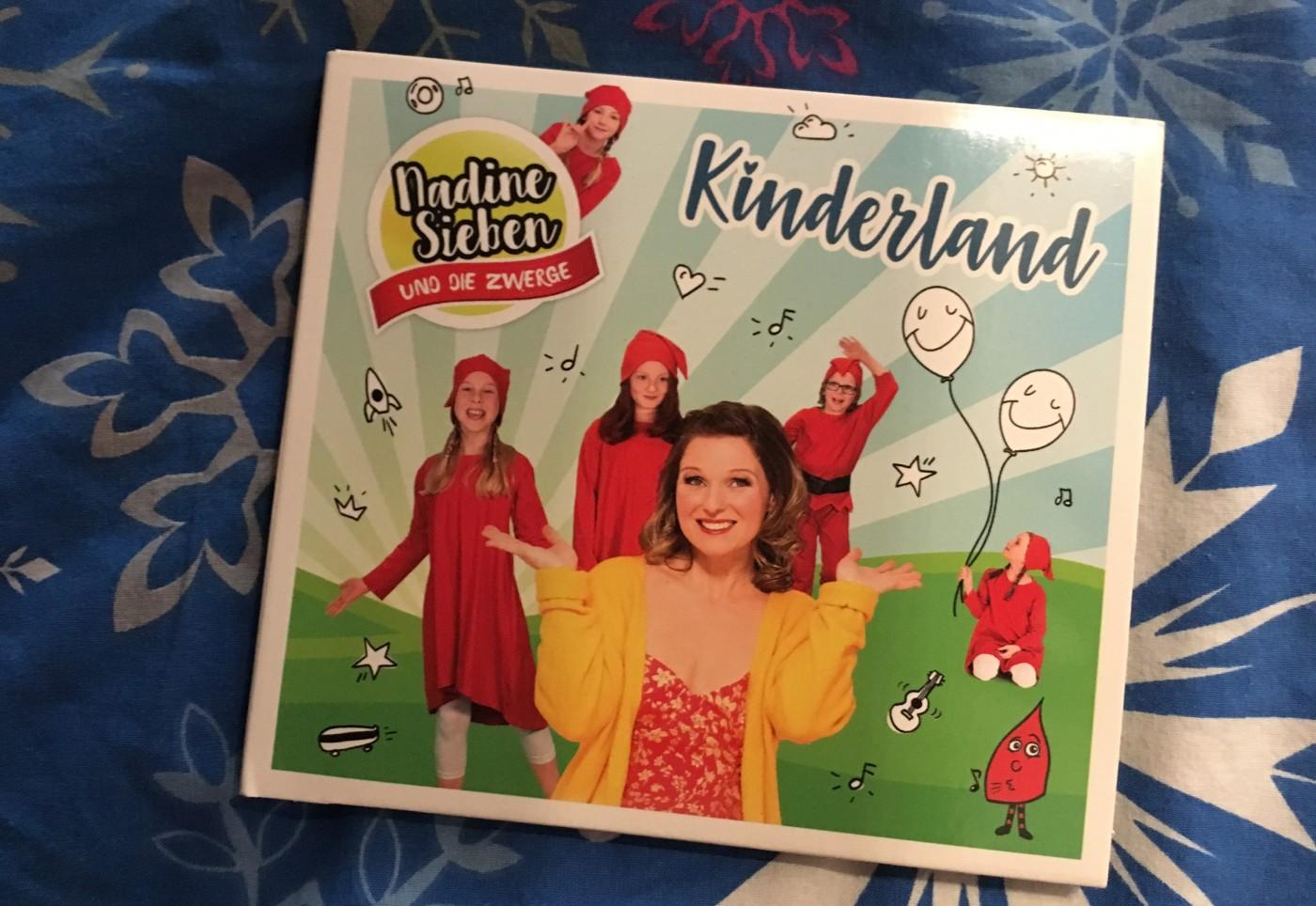 Kinderland CD von Nadine Sieben