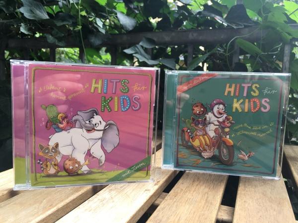 2 CDs von Hits für Kids