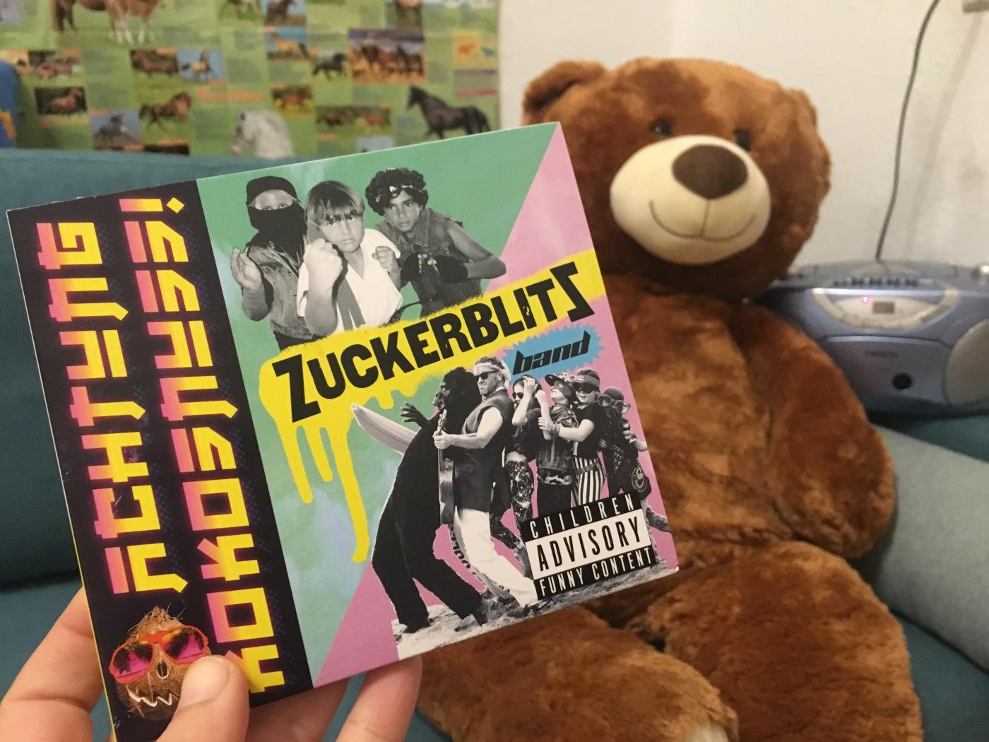 Zuckerblitz CD und Teddy
