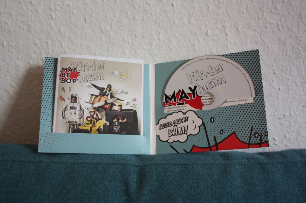 CD Maybepop Kinderkram und Booklet