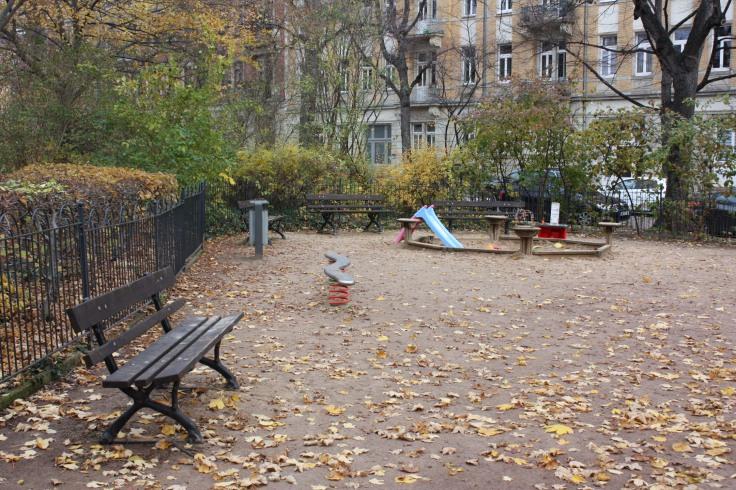 Spielplatz Dresden Bonhoefferplatz Ost