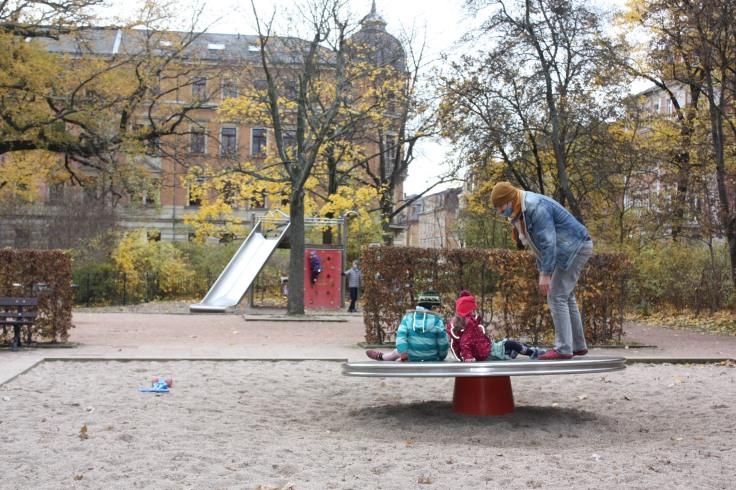 Spielplatz Dresden Bonhoefferplatz West