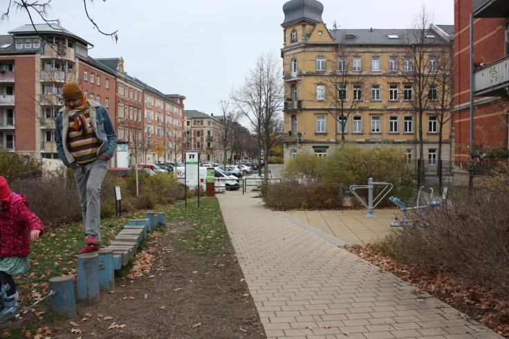 Fitnessparcour Dresden Löbtau