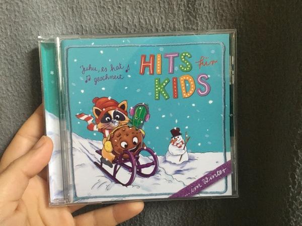Rückseite Hits für Kids im Winter
