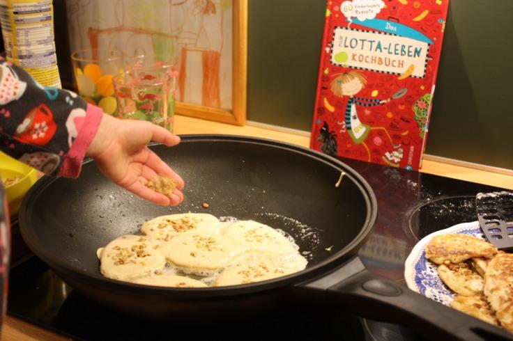 Pancakes braten