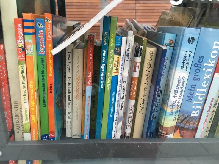 Bücher im Bücherschrank Dresden