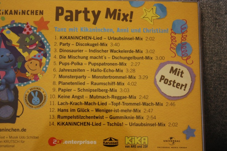 Kikaninchen CD Lieder