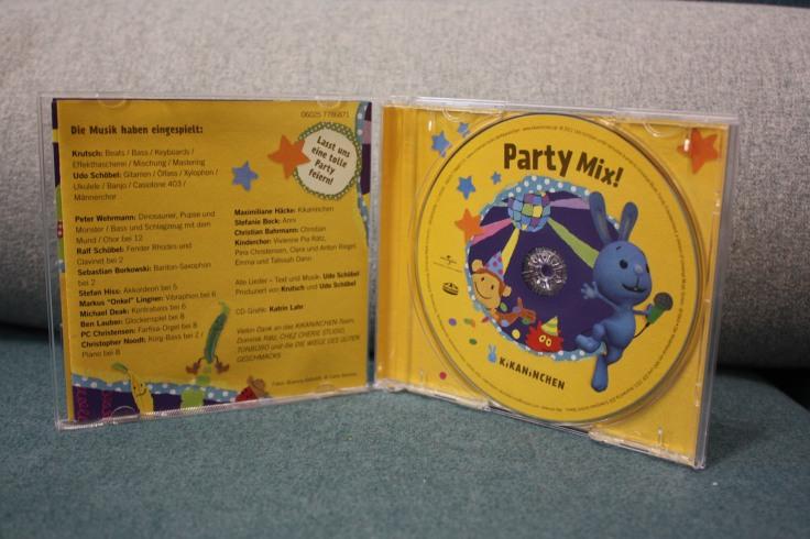 kikaninchen cd Party Mix