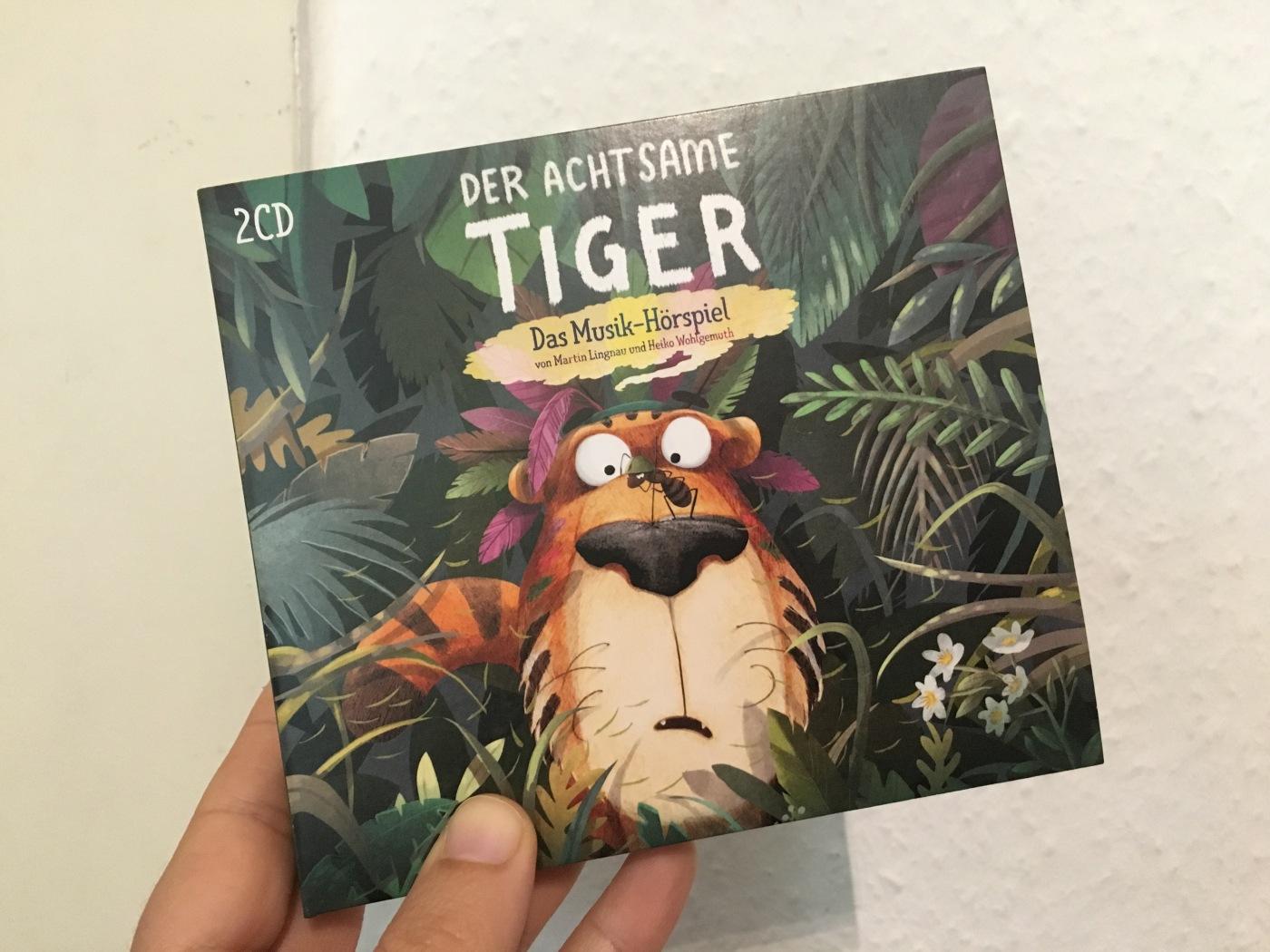 Der achtsame Tiger Cover