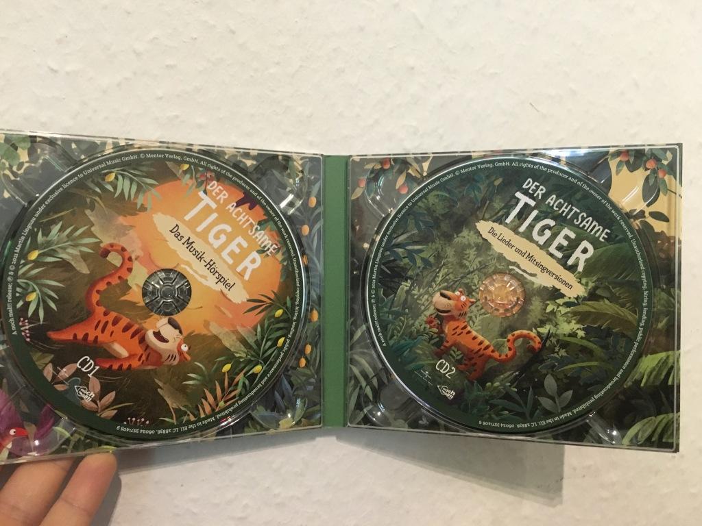 Der achtsame Tiger CDs