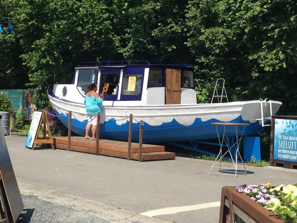 Boot in Oskarshausen